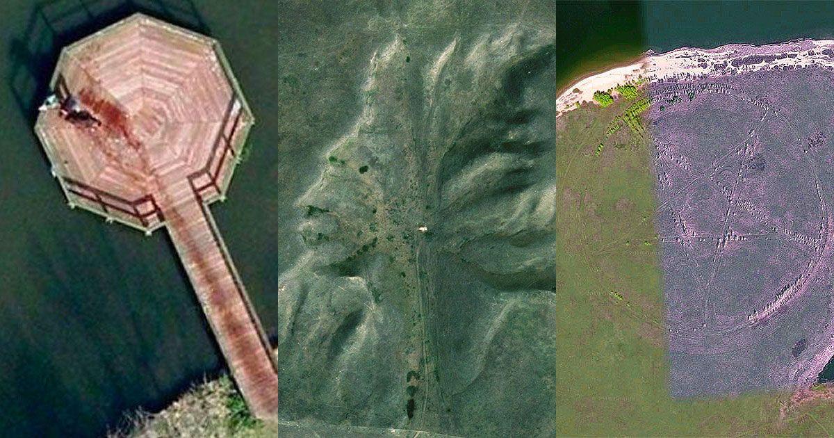 Riesenspinne Google Earth
