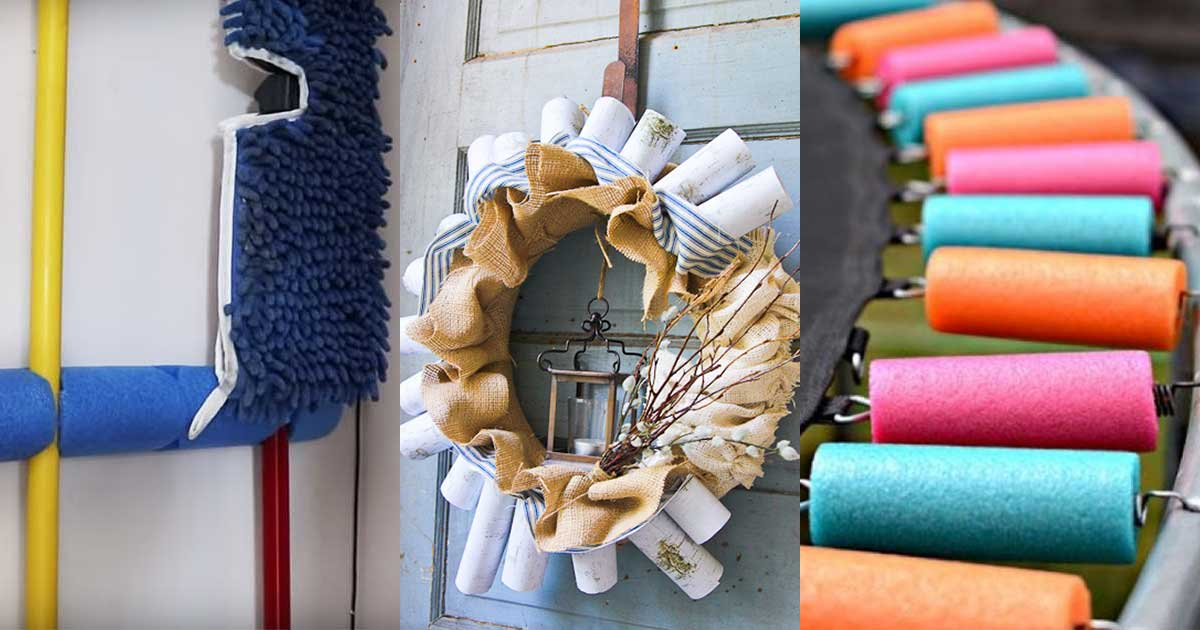Pool Noodle Life Hacks That Will Completely Floor You