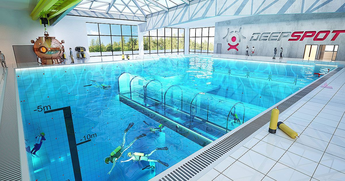 Deepest Pool in the World Set to Open in 2019 in Poland