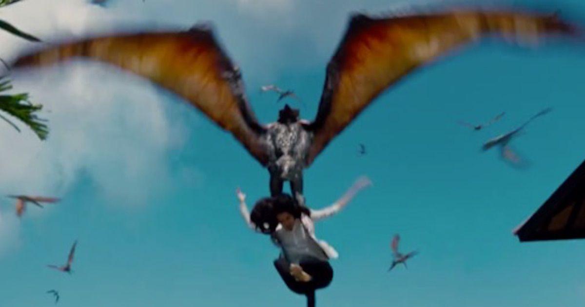 'Jurassic World' - Pterodactyl Attack Scene