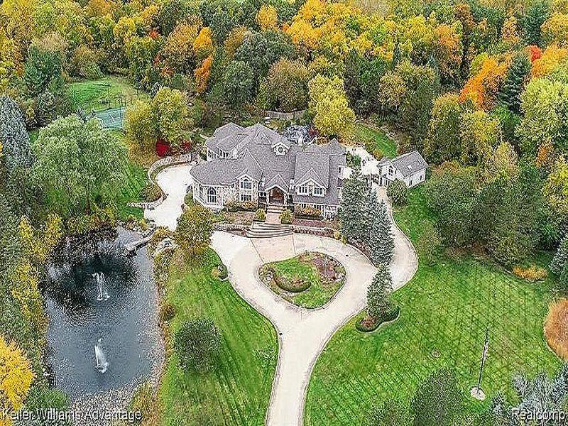 8 Mile Road Mansion