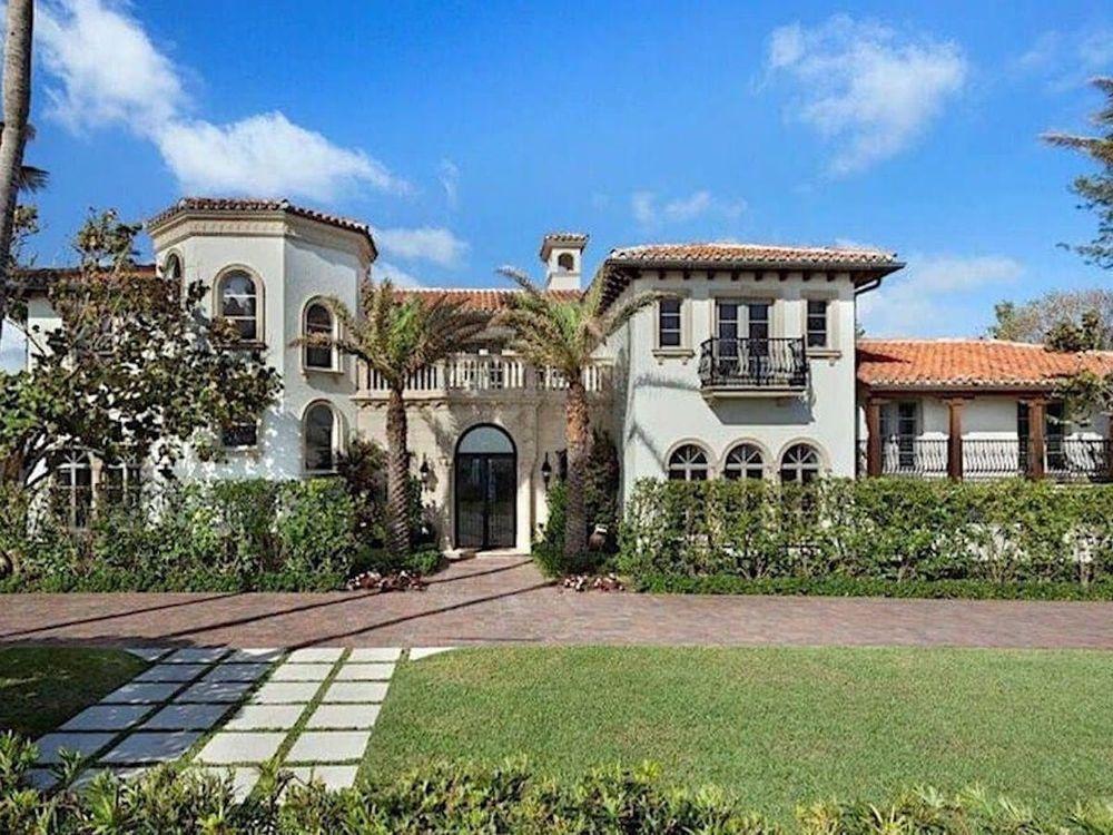 Billy Joel's Palm Beach Mansion